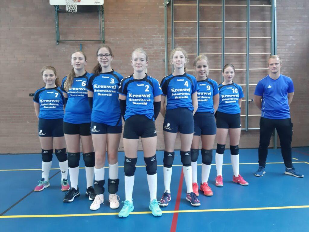 Teamfoto Meisjes C1 seizoen 20-21